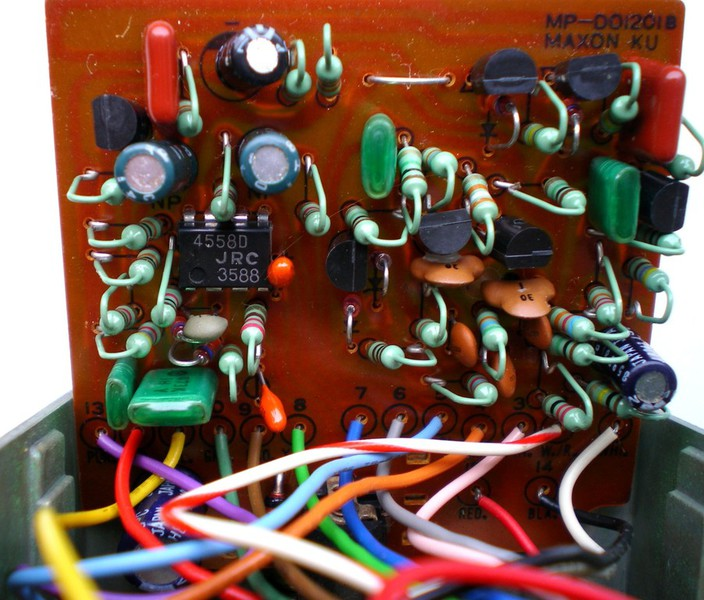 TONEHOME - the World of Vintage Guitar Effects Pedals - TS9