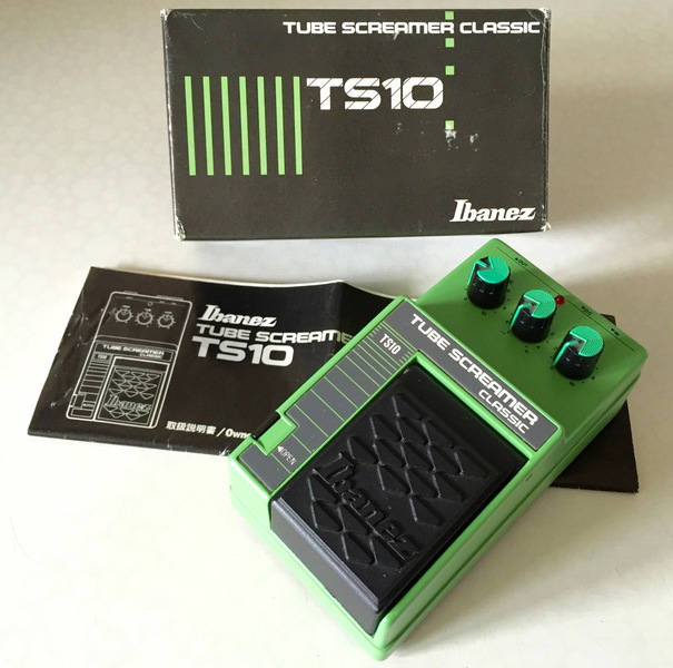 Ibanez Tube Screamer History
