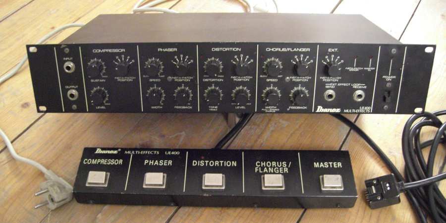 TONEHOME - the World of Vintage Guitar Effects Pedals - UE 400